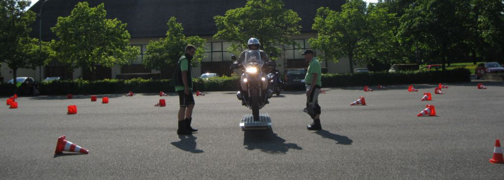 Fahrsicherheitstraining für Motorrad