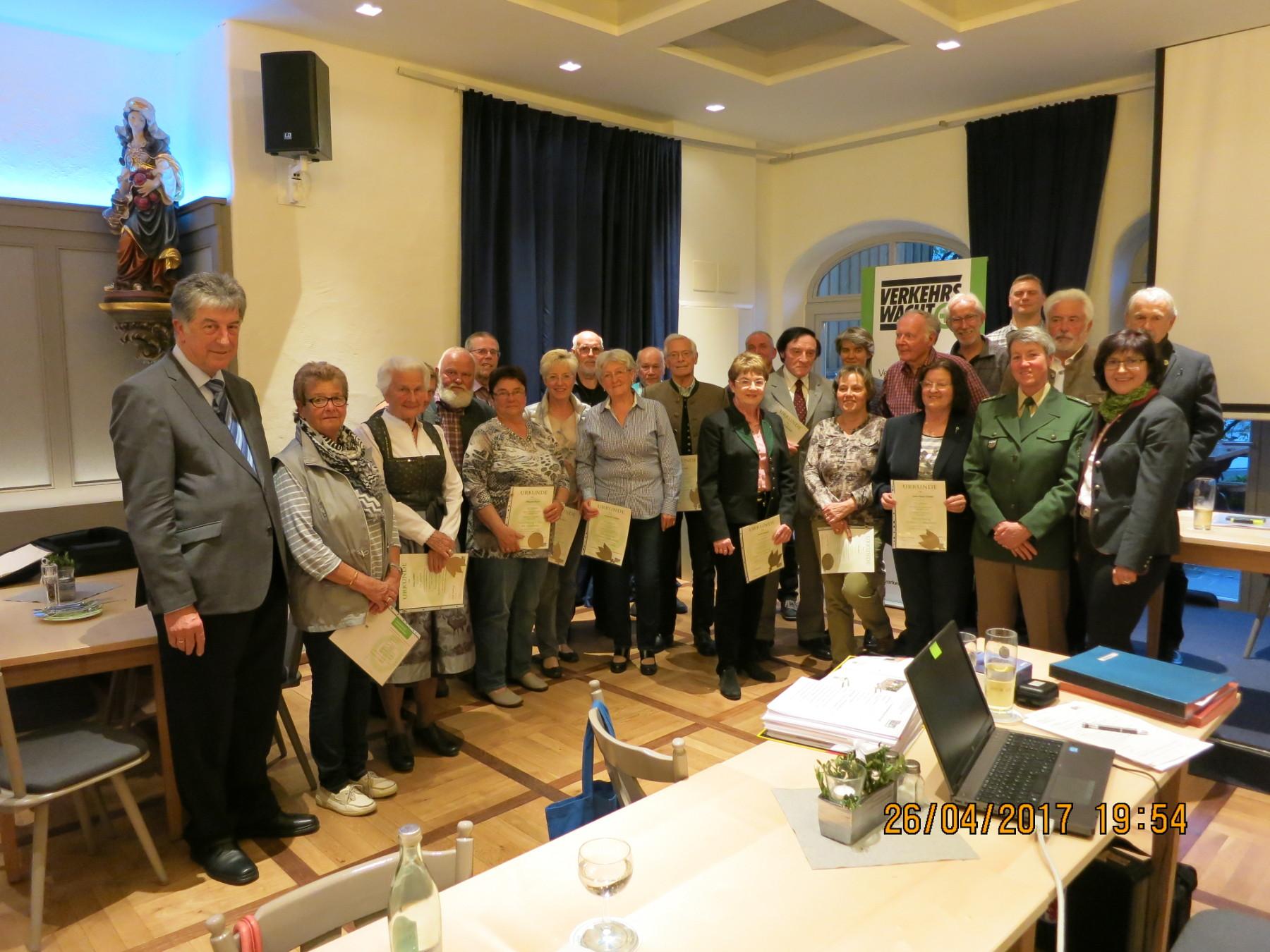 Mitgliederversammlung der Verkehrswacht